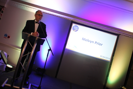BBC Radio Lincolnshire's Melvyn Prior hosted the Awards