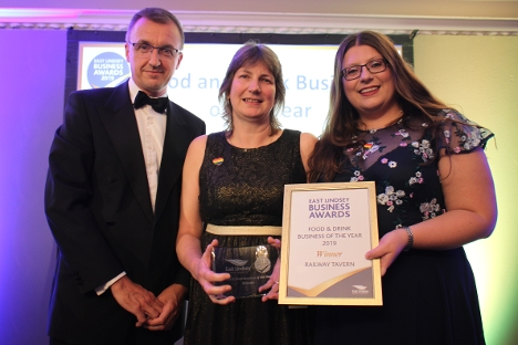 Aby's Railway Tavern scooped Food & Drink Business of the Year - sponsored by Select Lincolnshire