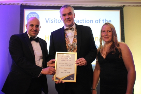 ARK Wildlife Park were highly commended in the Visitor Attraction of the Year category