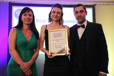 Bottomley Distillers were highly commended in the Best New Business Category