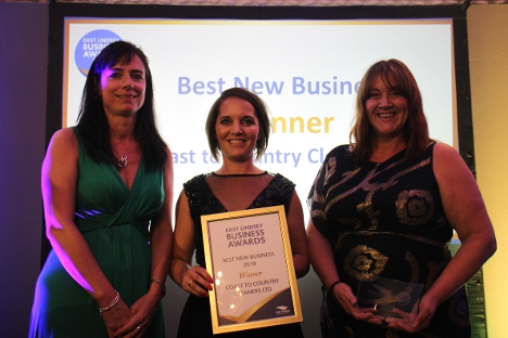 Coast to Country Cleaners took home the Best New Business Award - sponsored by Wilkin Chapman