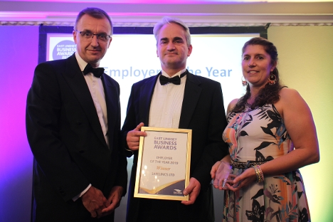 Employer of the Year went to Safelincs Ltd