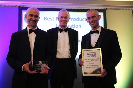 Scotts Precision Manufacturing were the winners of Best New Product or Innovation - sponsored by LJ Fairburn & Son