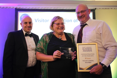 Walled Garden Baumber were winners of Visitor Attraction of the Year