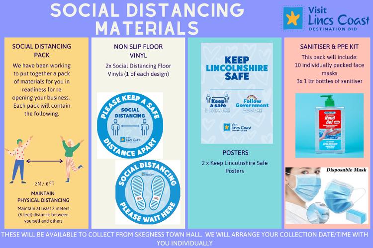 Visit Lincs Coast PPE Poster