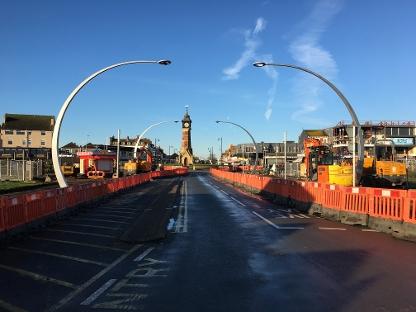 Works underway on TE Jan21