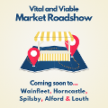 Image representing Vital and Viable roadshows coming to East Lindsey market towns this month